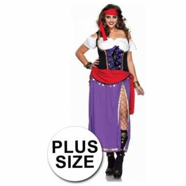 2delig gypsy verkleedkleding voor dames