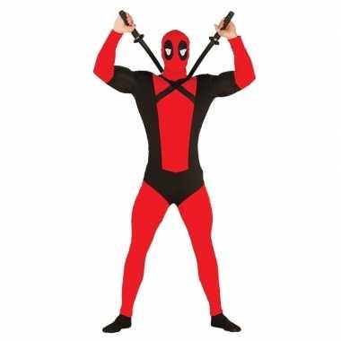 Anti superheld mutant verkleed verkleedkleding voor heren