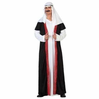 Arabische sjeik 1001 nacht verkleed verkleedkleding/gewaad voor heren