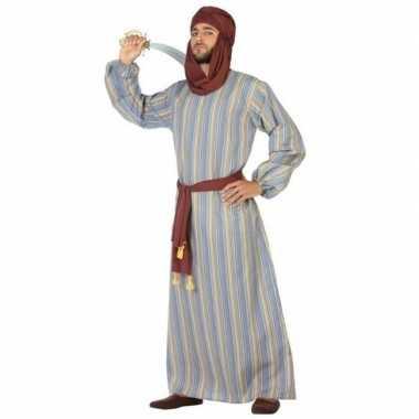 Arabische strijder ali verkleed verkleedkleding/gewaad voor heren