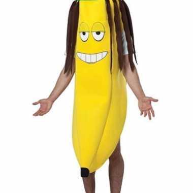Banaan verkleedkleding rasta