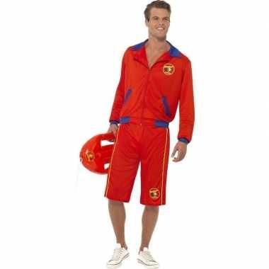 Baywatch verkleed verkleedkleding voor heren