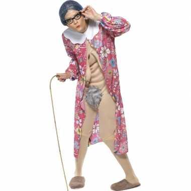 Bejaarde vrouw verkleedkleding