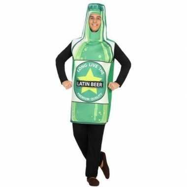 Bierfles fun verkleed verkleedkleding voor volwassenen