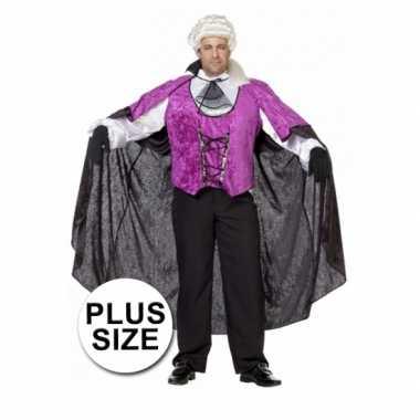 Big size vampieren verkleedkleding