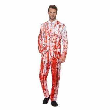 Bloederige smoking verkleedkleding voor heren
