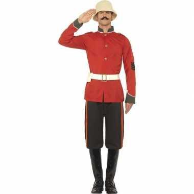 Boerenoorlog soldaat verkleedkleding voor heren