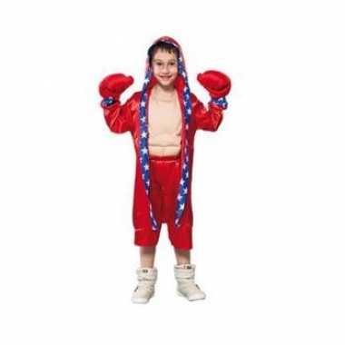 Bokser verkleedkledings voor kinderen rood