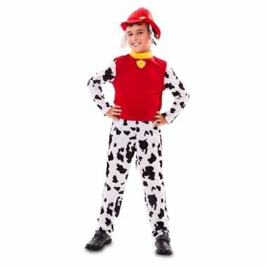 Brandweer hond verkleedkleding voor jongens
