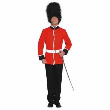 Britse soldaat carnavals verkleedkleding
