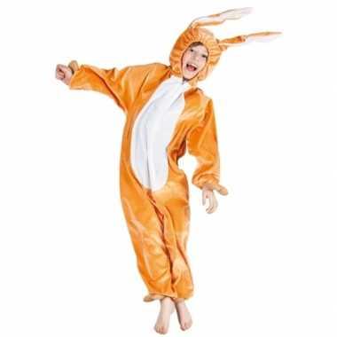 Bruin hazen verkleedkleding voor kinderen
