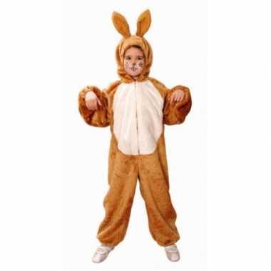 Bruine haas verkleedkleding voor kinderen