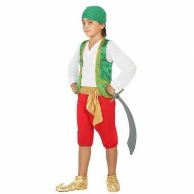 Carnaval arabiertje verkleedkleding jongens