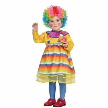 Carnaval clowns verkleedkleding peuters