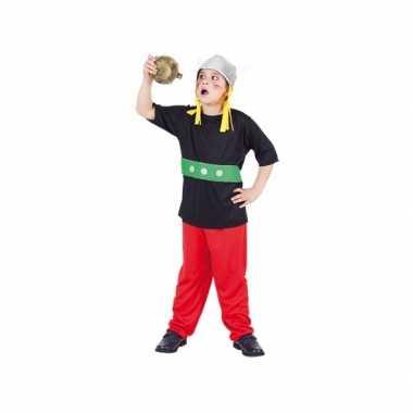 Carnaval gallier verkleedkleding voor kinderen 3 delig