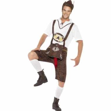 Carnaval grappig bierfeest worst verkleedkleding