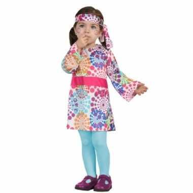 Carnaval hippies verkleedkleding peuters 10079609
