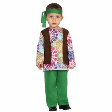 Carnaval hippies verkleedkleding peuters