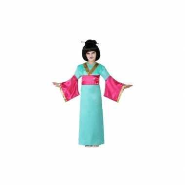 Carnaval japans verkleedkleding meisjes