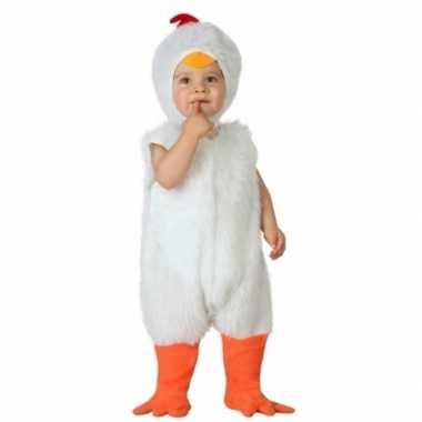 Carnaval kippen verkleedkleding peuters