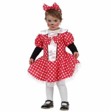 Carnaval muizen meisje verkleedkleding peuters