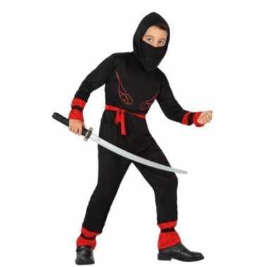 Carnaval ninja verkleedkleding jongens