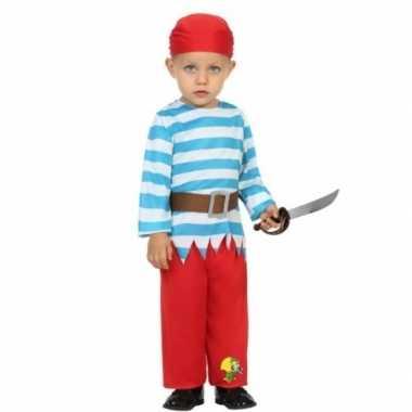 Carnaval piraten verkleedkleding peuters