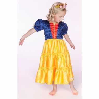 Carnaval verkleedkleding sprookje prinses meisjes