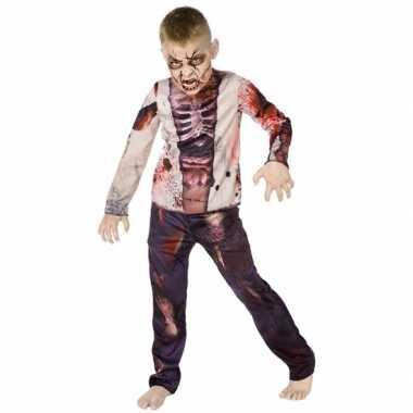 Carnaval zombie verkleedkleding voor kinderen