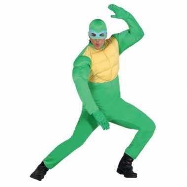 Carnavals verkleedkleding ninja voor heren