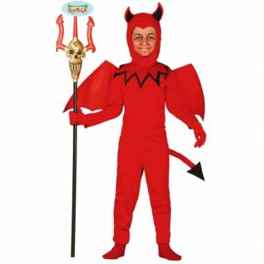 Carnavals verkleedkleding voor kinderen duiveltje