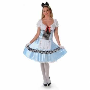 Carnavalsverkleedkleding alice voor dames