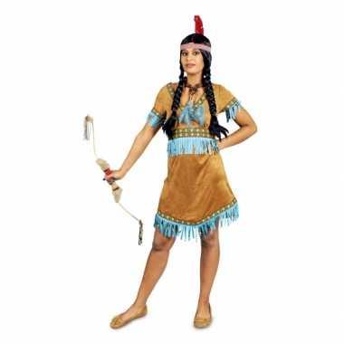 Carnavalsverkleedkleding indiaan voor dames