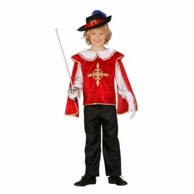 Carnavalsverkleedkleding musketier