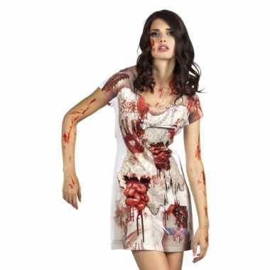 Carnavalsverkleedkleding zombiebruid