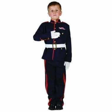 Ceremonieel soldaten verkleedkleding voor jongens