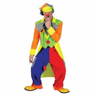 Clown verkleed verkleedkleding voor mannen