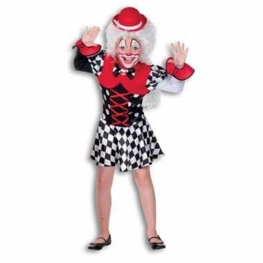 Clown verkleedkleding voor meisjes