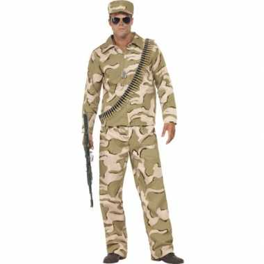 Commando verkleed verkleedkleding voor heren