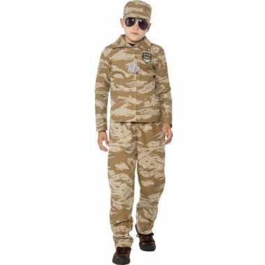 Commando verkleed verkleedkleding voor jongens
