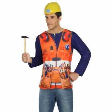 Compleet bouwvakker verkleedkleding voor heren