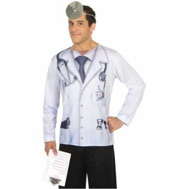 Compleet dokter verkleedkleding voor heren