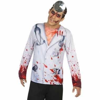 Compleet horror dokter verkleedkleding voor heren