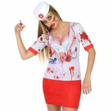 Compleet horror zuster verkleedkleding voor dames