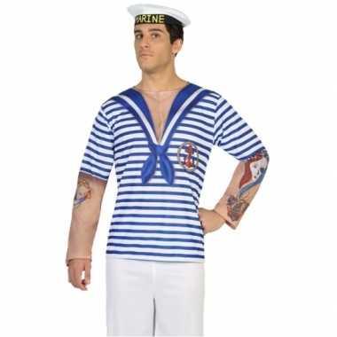 Compleet matroos verkleedkleding voor heren