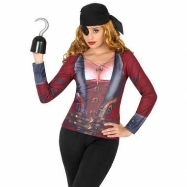 Compleet piraat verkleedkleding voor dames