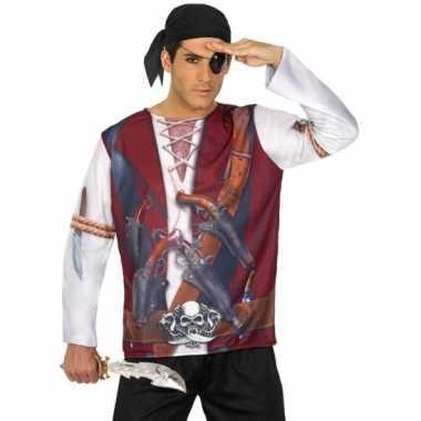 Compleet piraat verkleedkleding voor heren
