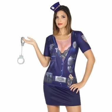 Compleet politie verkleedkleding voor dames