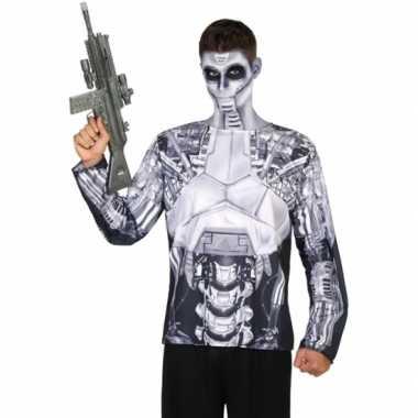 Compleet robot verkleedkleding voor heren