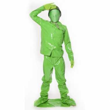 Compleet soldaat verkleedkleding voor kids